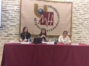 De izq. a derecha: Ana Mullor, Begoña González y Paloma Arrabal.